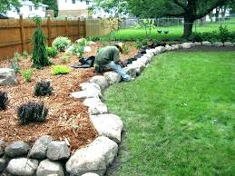 Garden Ideas With Rocks Diy Rock Garden Ideas Ghanadverts Club