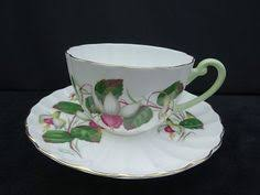 vintage shelley bone china england teacup and saucer china
