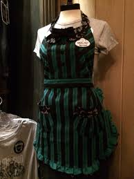disneyland haunted mansion ghost host apron disney design