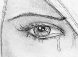photos sad crying eyes drawings drawing art gallery