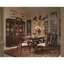 american drew cherry grove 45th pedestal dining table hayneedle