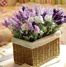 china artificial wedding home decor upscale provence lavender