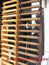 leather bracelet display images Wood display bali jewelry displayed made from wooden handmade jpg