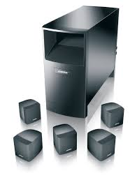 bose refurbished home theater system home audio logitech speakers w sub 25 bose acoustimass 6