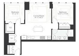 Micro Apartments Floor Plans by Interesting 2 Bedroom Luxury Apartment Floor Plans Beds Baths 1439