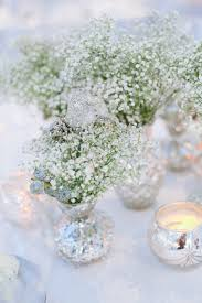 winter centerpieces winter wedding centerpieces tulle chantilly wedding