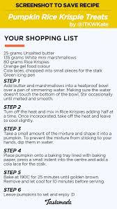 tastemade pumpkin rice krispie treats recipe