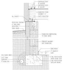 cmu crawlspace insulation out 4