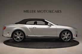 white bentley convertible 2013 bentley continental gt v8 stock b1225a for sale near