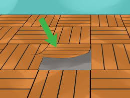 How To Fix Laminate Flooring That Got Wet How To Protect Laminate Flooring 12 Steps With Pictures
