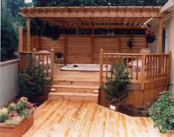 Deck Ideas Backyard Deck Privacy Ideas Home Outdoor Decoration