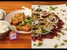 cuisine asiatique cuisine asiatique carpaccio vietnamien poisson caramélisé au cola