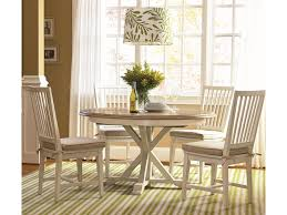 universal curated 5 piece dining set with garden breakfast table