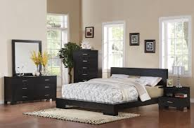 acme london eastern king platform bed in black 20057ek