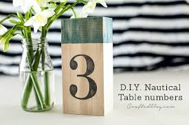 table numbers with pictures diy nautical table numbers crafted