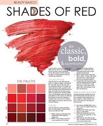 different reds lip color shades of s lifestyle magazine