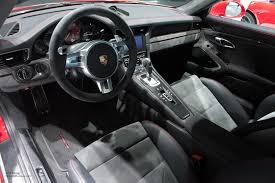 porsche 911 interior 2015 naias porsche 911 carrera 4 gts interior motoring rumpus