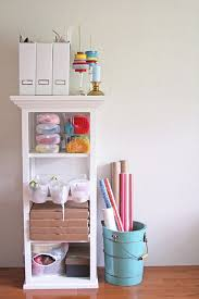 design diy gift wrapping station