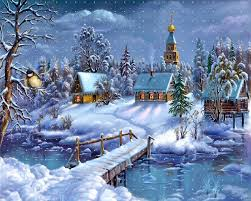 snowy christmas pictures snowy christmas night on holiday images hd wallpapers sf7uecmu
