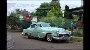 vintage cars 1950s american cars of the 1950s youtube