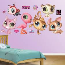 littlest pet shop wall decals