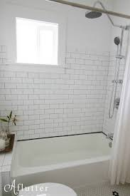 Bathroom Window Trim How Sarah Made Her Small Bungalow Bath Look Bigger Hooked On Houses
