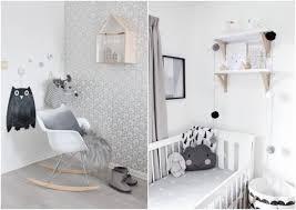 chambre bébé blanc et gris chambre bebe blanche garcon famille et bébé