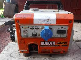 generator 110 volt kubota 110 volt generater na600 in coatbridge