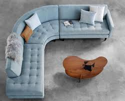 Curved Sectional Sofa These 20 Curved Sectional Couches Are For Big Families