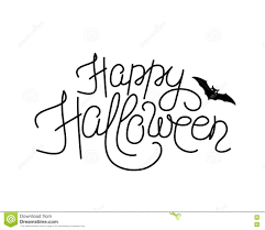 scary halloween lettering pumpkin with happy halloween sign royalty free stock photos