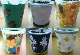 Cute Flower Pots by Painted Flower Pot Designs 55 Cute Interior And Flower Pots Quot
