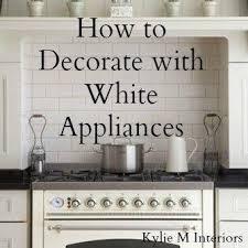 Painted Kitchen Cabinets White Best 25 White Appliances Ideas On Pinterest White Kitchen