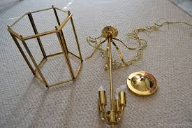 Spray Painting Brass Light Fixtures Day 6 Spray Paint Your Light Fixtures The Frugal Homemaker