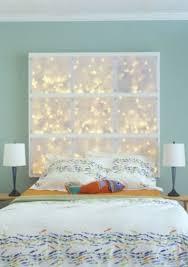 Light Bedroom Ideas String Lights In The Bedroom Lights Diy Headboards