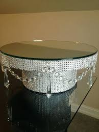 16 cake stand 16 wedding cake stand stands rhinestone diamond wrap by inch gold