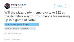 Me Me Me 2 - how fnatic s pizza party inadvertently became this year s dota 2 meme