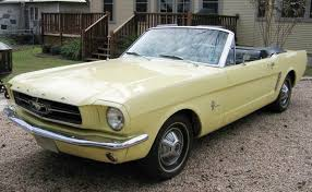 springtime yellow 1965 mustang paint cross reference