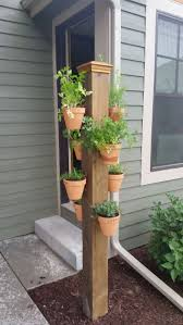 plant stand hanging wall planters outdoor vertical pot plant
