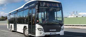 scania delivers 51 hybrid buses to madrid scania group