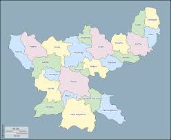 Blank India Map Pdf by Jharkhand Free Maps Free Blank Maps Free Outline Maps Free