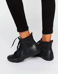 womens boots rubber sole converse all rubber chelsea boots fast fashion black on