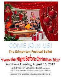 twas the night before christmas auditions u2013 efb dance