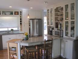 Kitchen Appliance Storage Cabinets by Kitchen Peninsula With Seating Ideas For Small Kitchens Counter