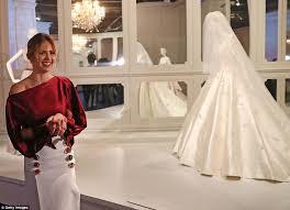wedding dress miranda kerr miranda kerr s wedding gown on display at exhibition daily