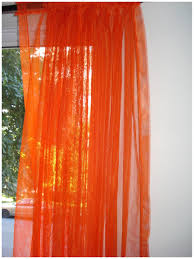 Sheer Curtains Orange Sensational Design Burnt Orange Sheer Curtains 46080 Window
