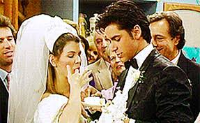 wedding cake gif when you get married you can t eat the wedding cake what not