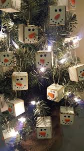 primitive tree ornaments for a traditional