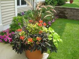 Ideas For Container Gardens Structure Of A Container Garden Ridgeview Centre Intended For