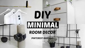 minimal room diy pinterest inspired room decor minimal and affordable 2016