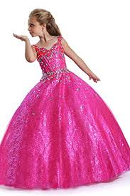 aiduo big girls floor length sequins glitz pageant dresses b00xj86bx0